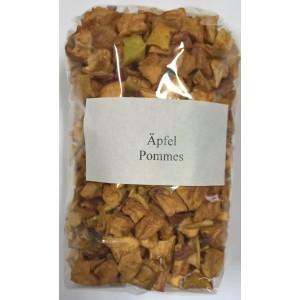 Äpfel getrocknet, Würfel 150g